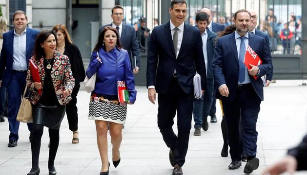 Ábalos arranca la defensa de la moción recordando la sentencia de Gürtel