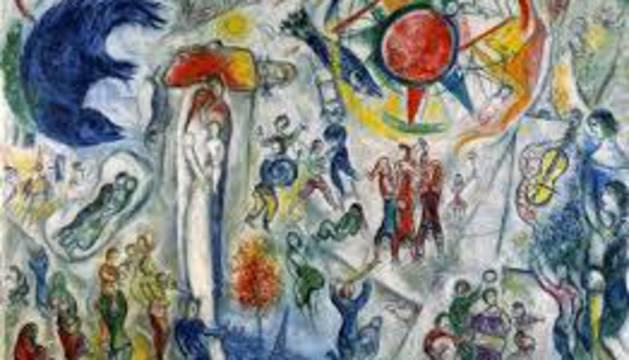 La muestra de Chagall podrá verse hasta septiembre.