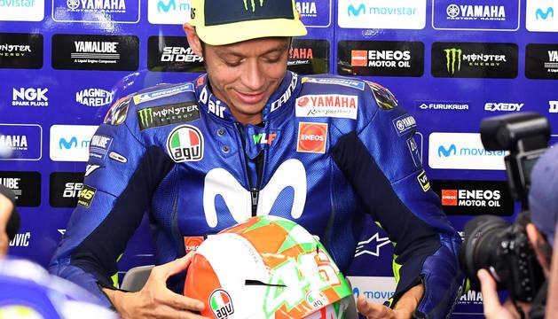Rossi, 'pole' dos años después