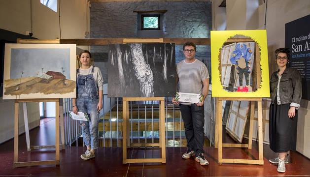 Eduardo Alsasua gana el XXI Concurso de Pintura al Aire Libre de la Mancomunidad