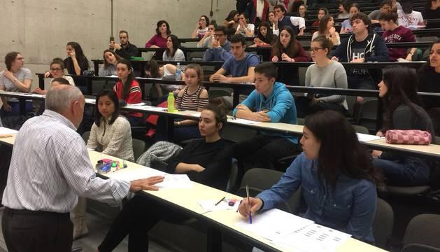 3.104 estudiantes se examinan hoy de Selectividad en la UPNA