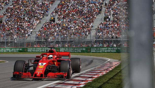 Vettel hace la pole en Canadá