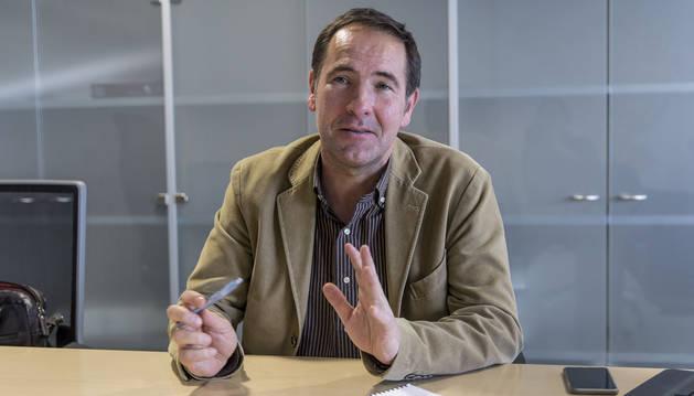 Xabi Lasa, exalcalde de Berriozar por Nafarroa Bai, es director general de Administración Local del Gobierno de Navarra.