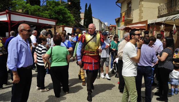 Santacara viaja a sus orígenes romanos acompaña de buen tiempo