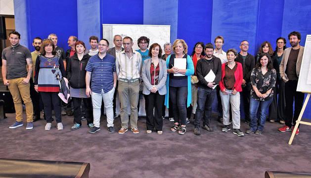 Presentación de la II edición del programa Landarte.