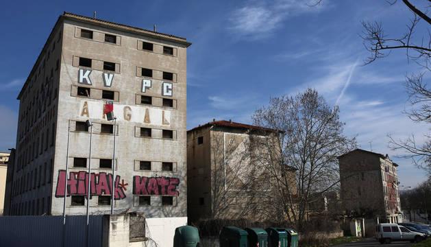 Pamplona propondrá al Consorcio del TAV los derribos de Argal y Talluntxe
