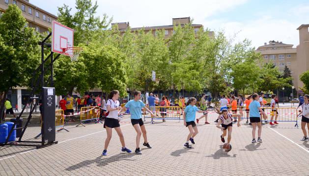 El I Streetball Barañáin reunió a cerca de 250 participantes