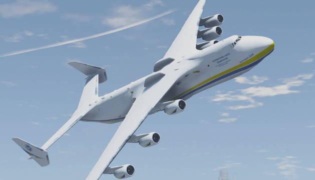 Un avión ruso Antonov, para el que MTorres fabricará maquinaria.