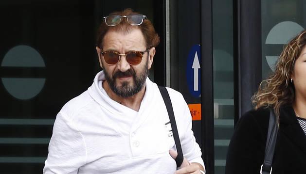 Antonio Fontaneda, saliendo del Palacio de Justicia.