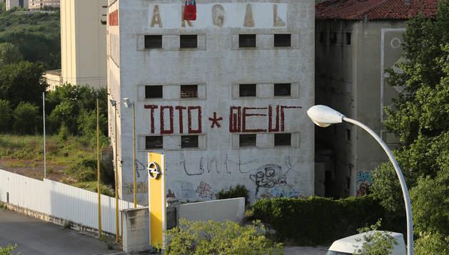 La antigua fábrica de Argal, en la avenida Aróstegui.