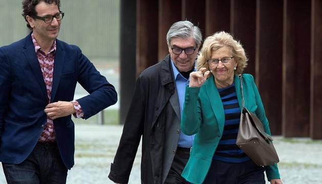 Don Felipe ha llegado a Pamplona a las 11.30 horas acompañado por el ministro de Fomento, José Luis Ábalos