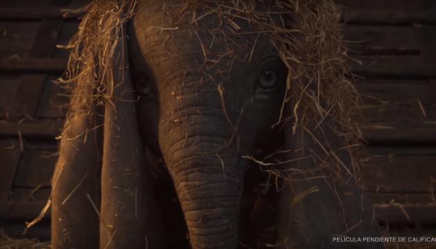 Momento de la película 'Dumbo'