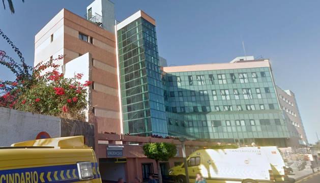 Hospital de Puerto de la Cruz, en Tenerife.