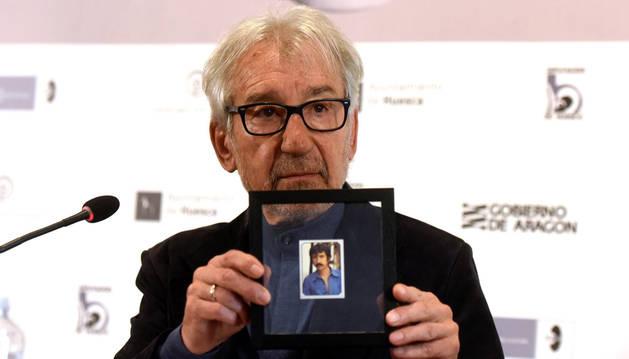 foto de José Sacristán, premio Luis Buñuel del festival de cine de Huesca
