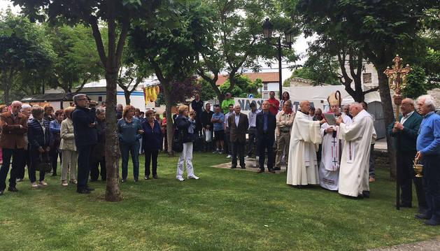 Etxauri reestrena  por San Antonio las campanas de la iglesia