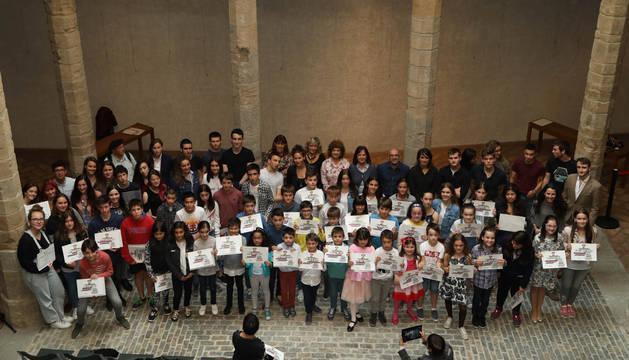 Foto de todos los premiados