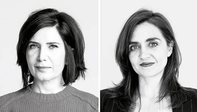 La arquitecta iraní Farshid Moussavi (izda.) y la arquitecta madrileña Belinda Tato (dcha.).