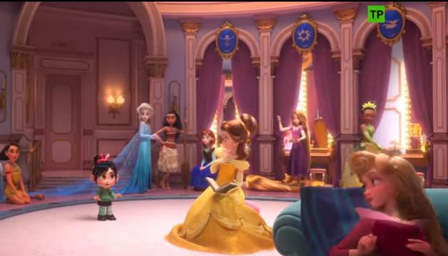 Una de las escenas de la película
