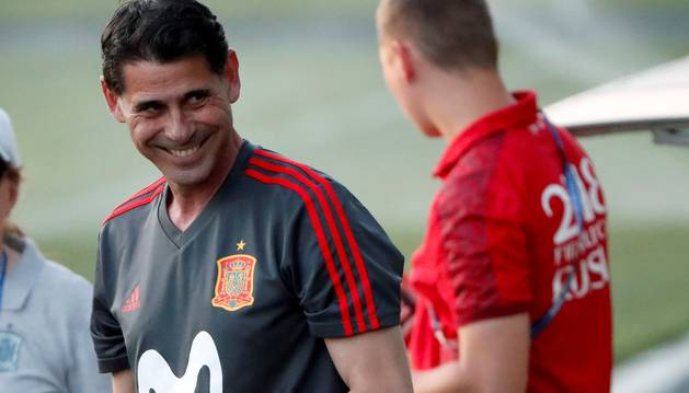 Hierro debut Mundial España