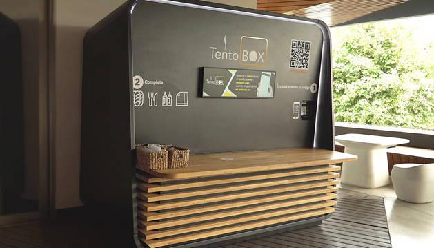 El Grupo Azkoyen, multinacional tecnológica con sede en Navarra, ha desarrollado 'TentoBOX', el