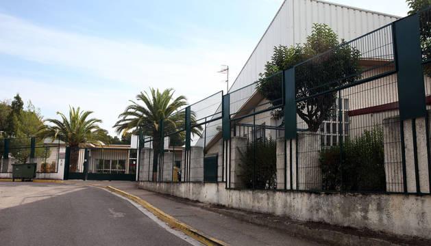 Imagen de la entrada del colegio de Educación Especial Torre Monreal de Tudela.