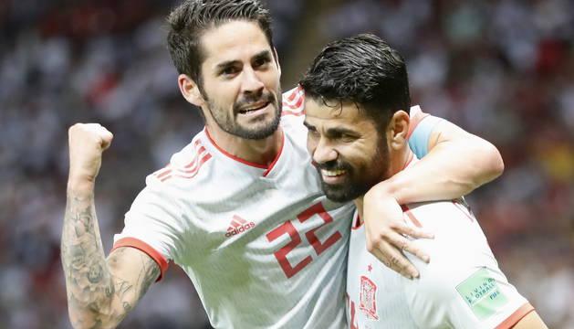 Irán 0-1 España