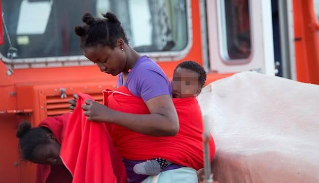 Rescatados en las costas españolas