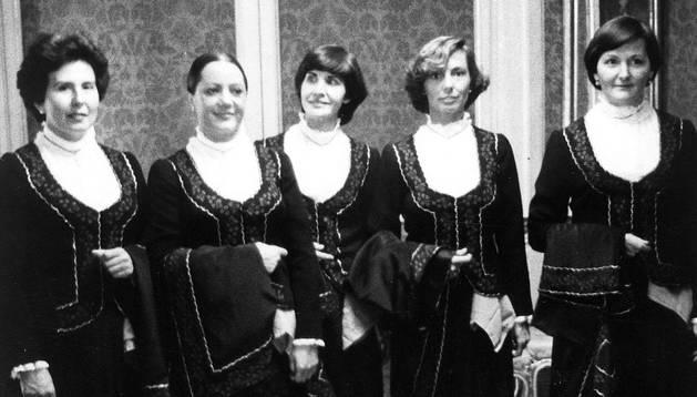 1979: las primeras mujeres ediles de los Sanfermines