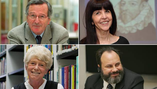 Rafael Moneo, Margaret S. Archer,  Ruth Fine y Robert Picard.