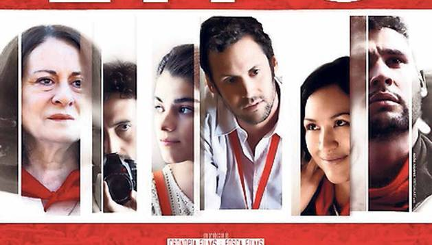 Cartel de 'Blue Lips' (varios directores, 2014).