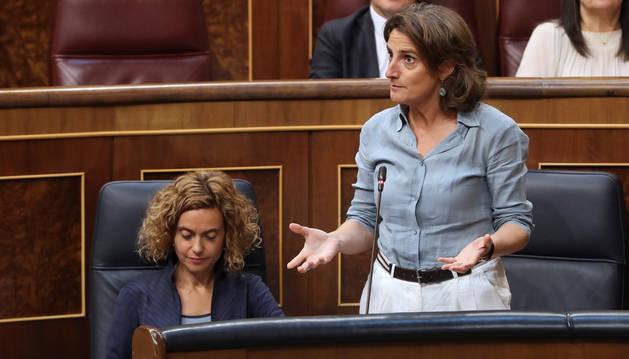 Teresa Ribera, en el Congreso de los Diputados