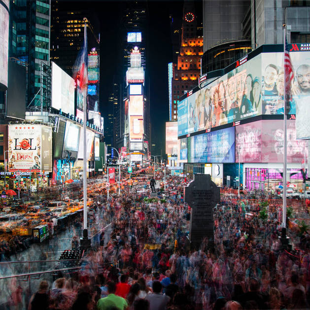 Imagen de Times Square, en Nueva York.