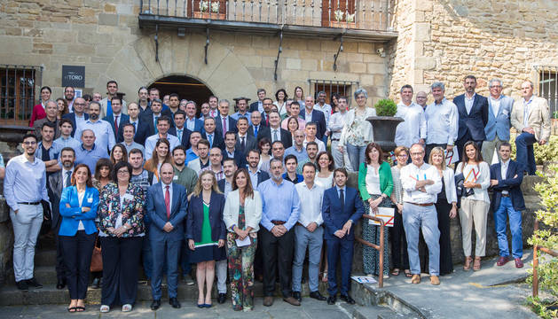 foto de Asistentes a la jornada de empresas apoyadas por Sodena.