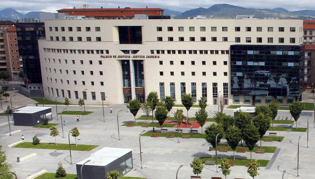 Sede del Palacio de Justicia de Pamplona.