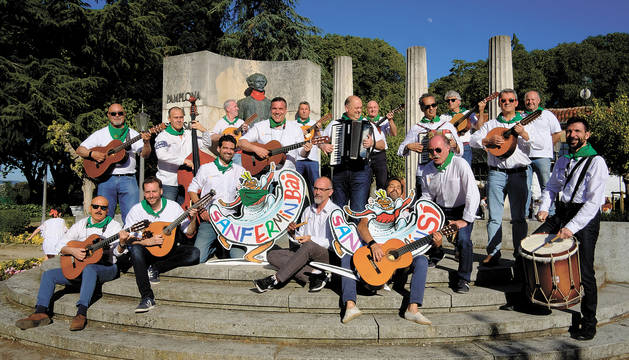 La Cofradía Musical San Saturnino se suma a la campaña promovida por Diario de Navarra para promover una imagen positiva de los Sanfermines