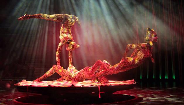 Uno de los número del Circo Italiano.