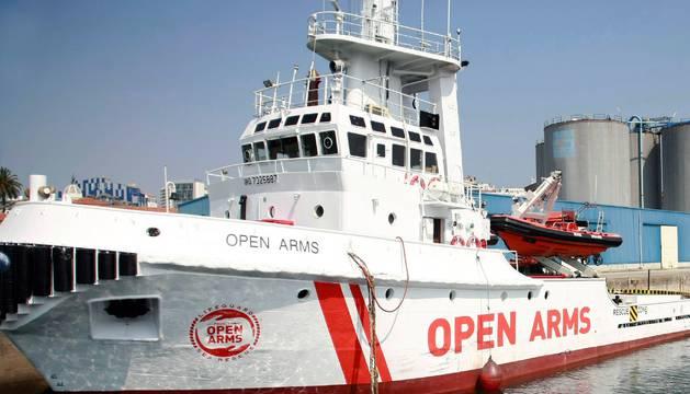 La embarcación de la ONG española