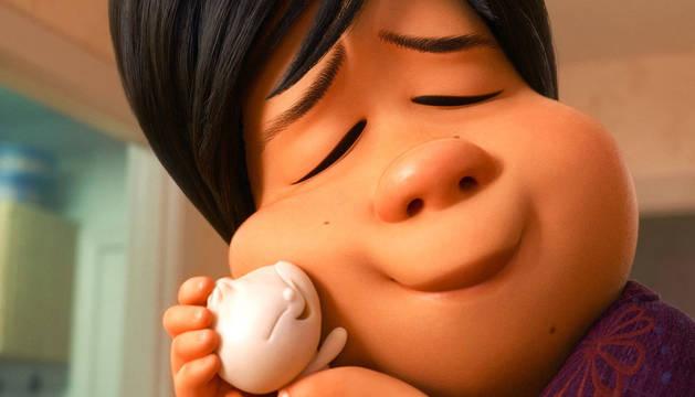 Uno de los momentos del cortometraje 'Bao' de Pixar que se emitirá antes de la película 'Los increíbles 2'.