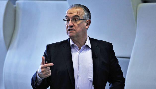 Enrique Maya, portavoz de UPN.
