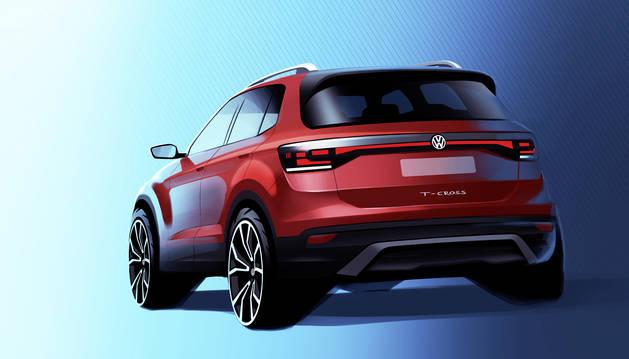 El nuevo T-Cross de Volkswagen que se producirá en la planta navarra.