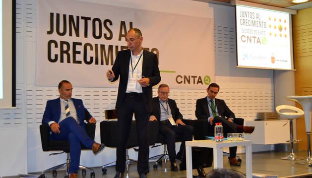 Héctor Barbarin, Imanol Vidal (de pie), Juan Miguel Floristán y Santiago Sala.