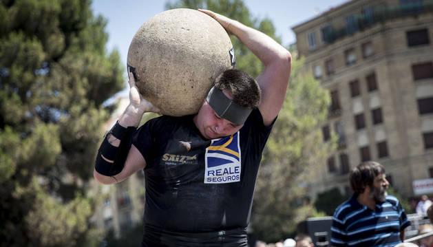 El deporte rural regresa a San Fermín