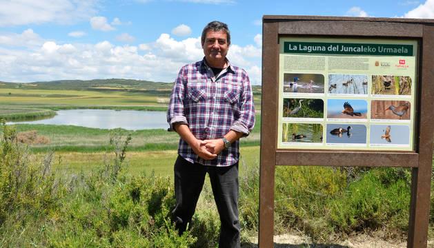 Acondicionan un observatorio en la laguna del Juncal de Tafalla
