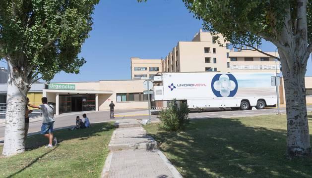 El edificio de la nueva resonancia del hospital de Tudela costará 1,3 millones