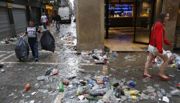 Combatir el mar de plástico en las calles