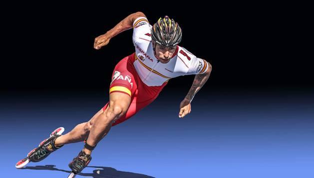 el patinador Ioseba Fernández