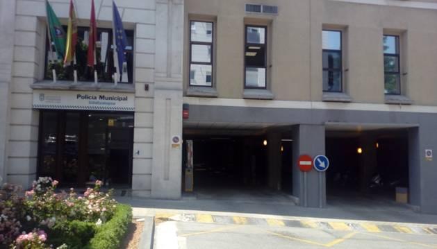 foto de Comisaría de la Policía Municipal de Pamplona.