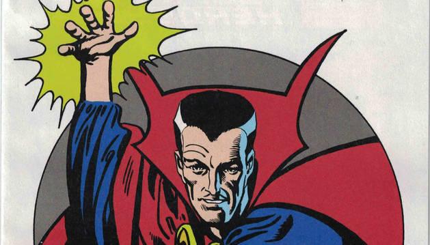 foto de Steve Ditko fue también el creador de Doctor Strange.