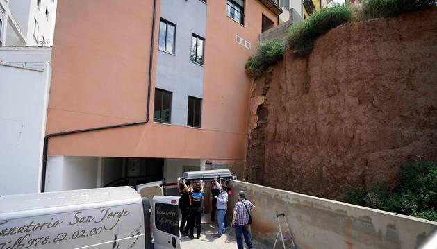 foto de Un joven de 27 años ha fallecido hoy al caer desde un muro de una altura aproximada de diez metros en Teruel.