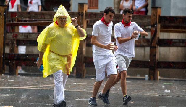 Alerta en el norte de Navarra por chubascos y tormentas fuertes